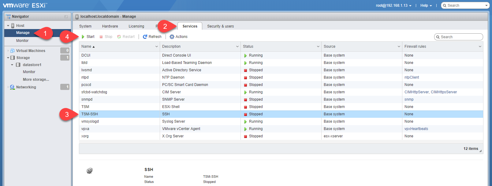 Patching a Standalone ESXi Host - vGemba