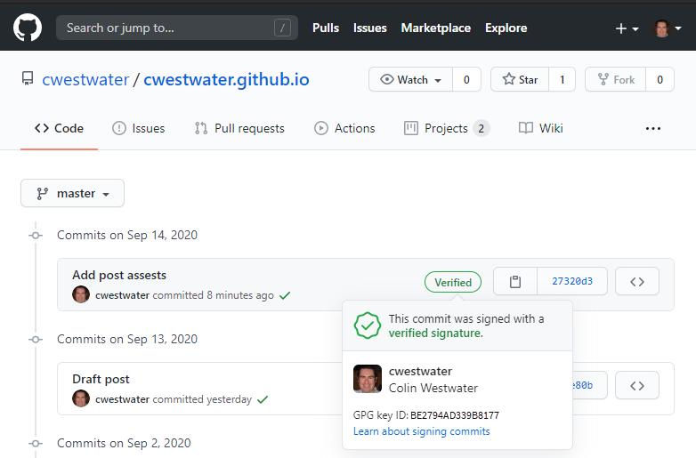 GitHub Code Commit