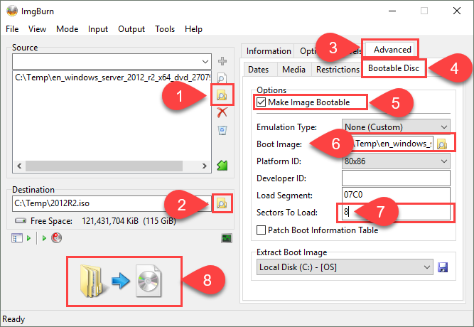 Adding VMware Drivers to Server 2012 R2 Boot Media - vGemba