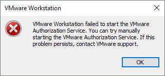 Workstation Error