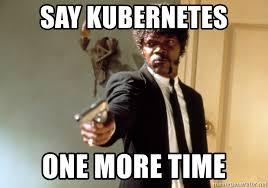Kubernetes Meme