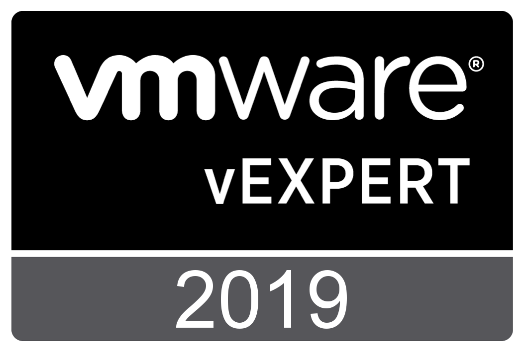 vExpert 2019 Badge