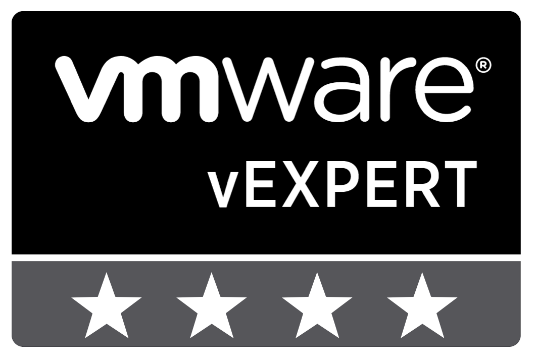 vExpert 4 Stars Badge